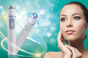 Blue LED Light Acne Removal Pen