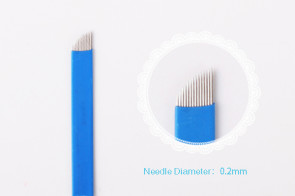 Flexible 14 Pin Curved Microblade