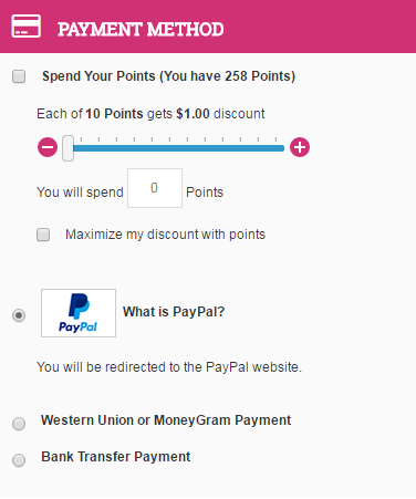 paypal payment ibeautymachine.com
