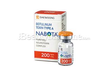 Nabota 200U botox