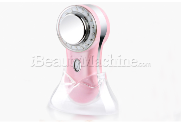 Personal use Galvanic Photon Facial Skin Beauty Device with Vibration