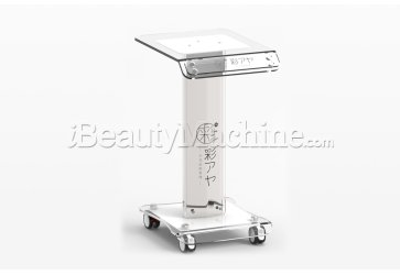 Beauty Machine Trolley | Beauty machine support | High quality acrylic glass + Aluminum alloy | Free logo printing service