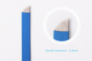Flexible 16 Pin Curved Microblade