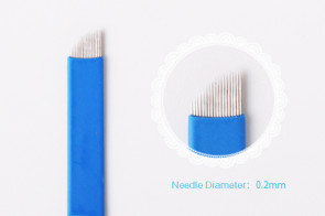 Flexible 18 Pin Curved Microblade