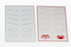 Eyebrow and Lips Practice pad
