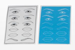 Eyebrow lips Practice pad