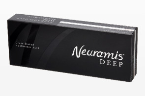 Neuramis Deep | 1ml Injectable Cross-Linked Hyaluronic Acid Dermal Filler | Medical Grade HA Dermal Filler
