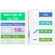 """InstaLift™ 6D COG PDO Thread with """"Bullet"""" Type Blunt Cannula 18Gx100mmx160mm 