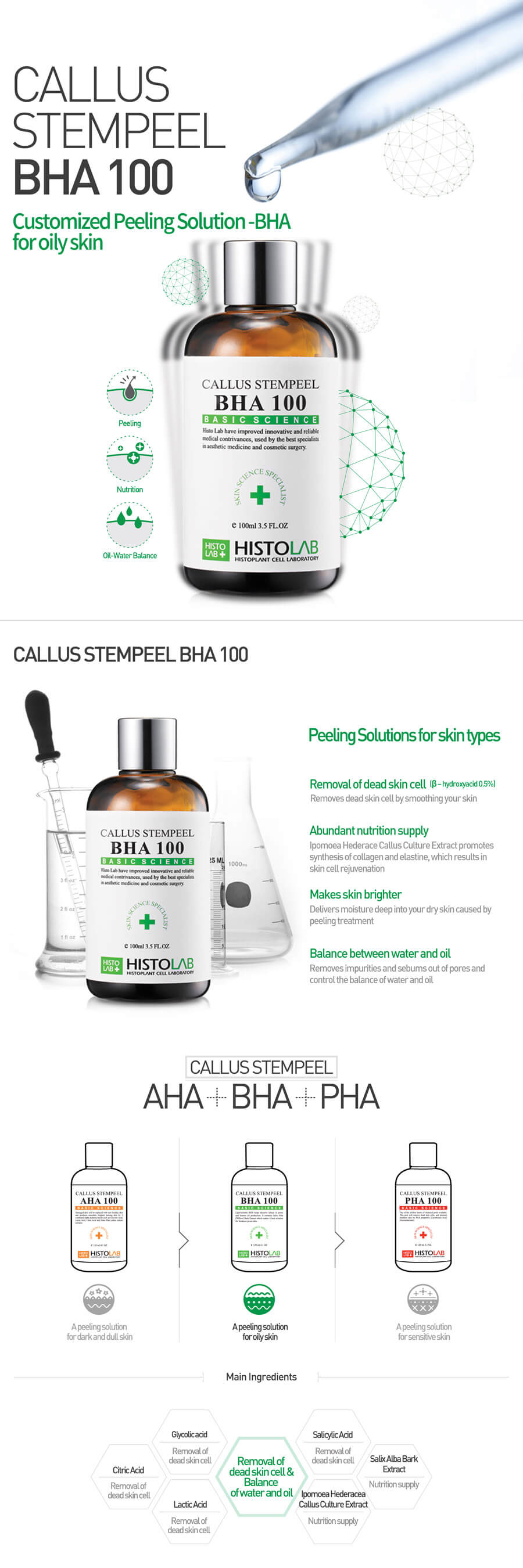 bha peeling solution