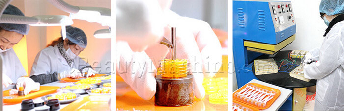 dermaroller assemble, titanium micro needle roller