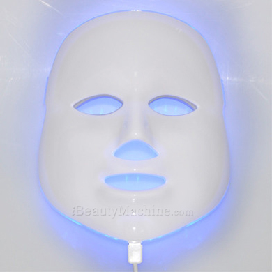 blue light acne removal facial mask