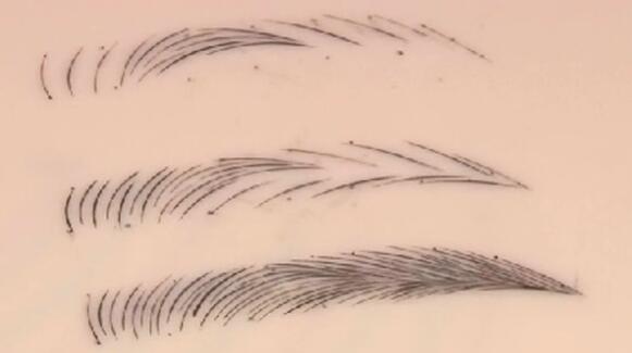 eyebrow tattoo art practicing tool