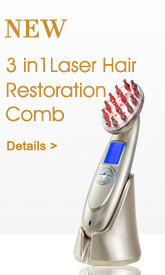 Laser hair restoration comb