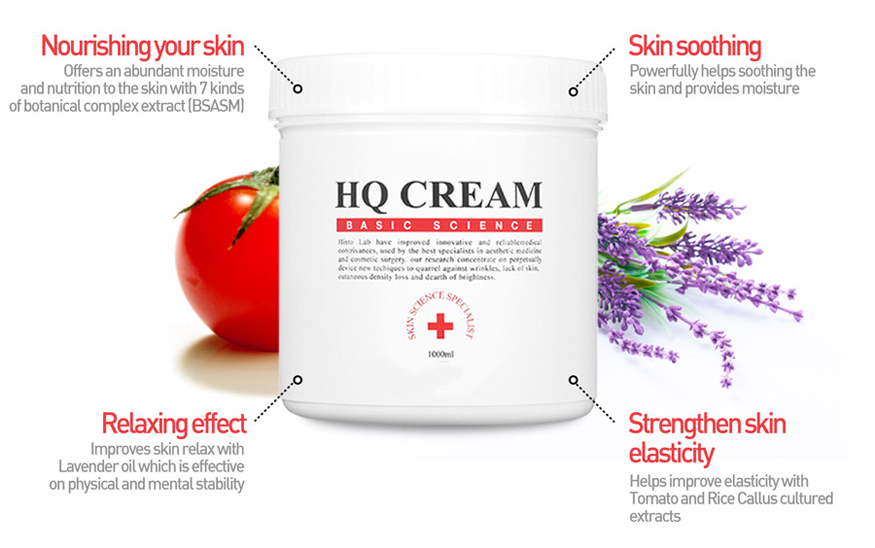 RF Cream for Soothing and Nourishing