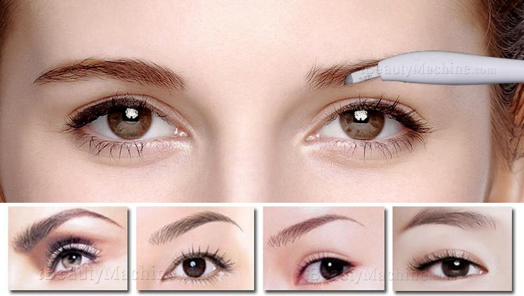 Angled 18 U-Shaped Microblading Pen