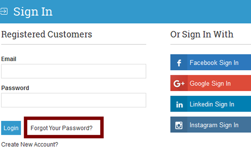 reset your password ibeautymachine.com