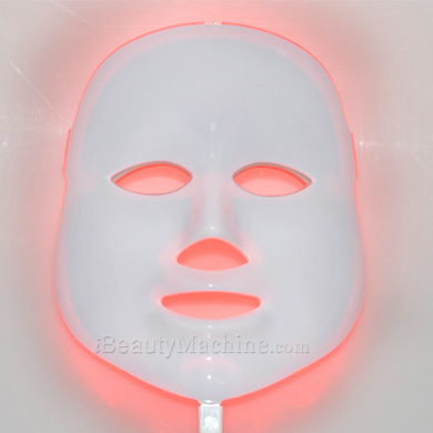 red light skin tightening mask