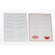 2 in 1 Microblading Eyebrow Practice Pads | Eyebrow and Lips Practice Paper | Odor Free | Soft  Material | Easy Dyeing
