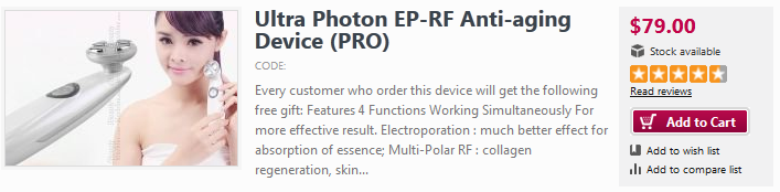 photon led light therapy