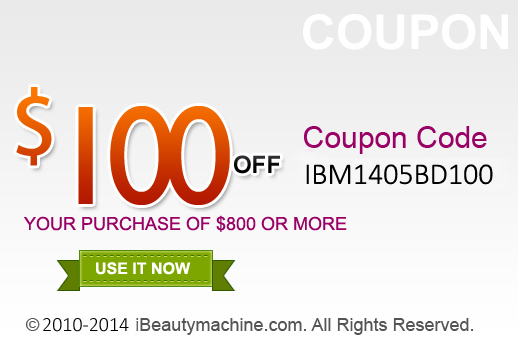 $100 off your purchase of $800 or more
