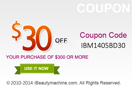 $30 off your purchase of $300 or more