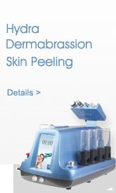 Dermabrasion skin peeling machine